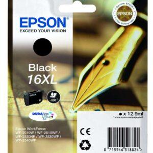 EPSON Cartuchos inyeccion 16XL Negro 500pag C13T16314012