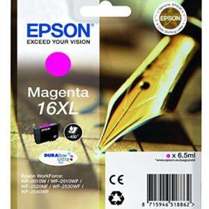 EPSON Cartuchos Inyeccion 16XL Magenta 450pag C13T16334012