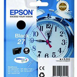 EPSON Cartuchos Inyeccion 27 Negro C13T27014012