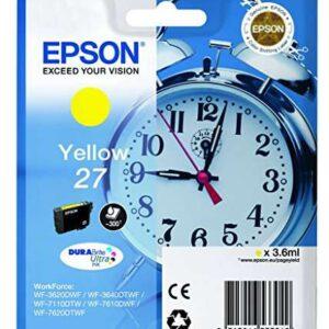 EPSON Cartuchos Inyeccion 27 DURABrite Ultra  Amarillo C13T27044012