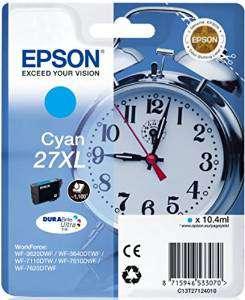 EPSON Cartuchos inyeccion 27XL Cyan C13T27124012