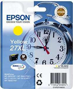 EPSON Cartuchos inyeccion 27XL Amarillo C13T27144010
