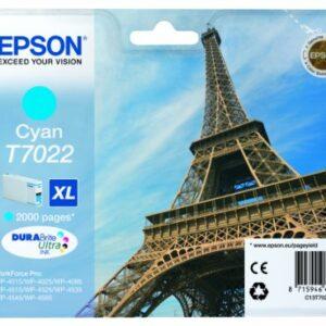 EPSON Cartuchos Inyeccion T7022 Cyan C13T70224010