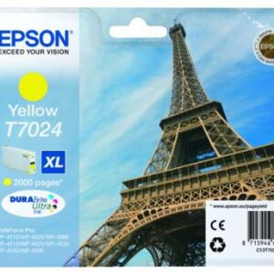 EPSON Cartuchos Inyeccion T7024 Amarillo C13T70244010