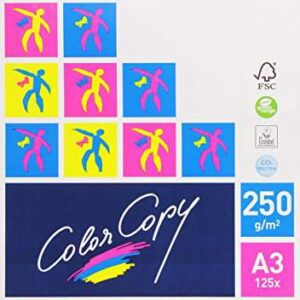 COLOR COPY Papel impresión 125 Hojas A3 Blanco CCA3250