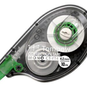 TOMBOW Cinta correctora Mono CT-YT4 Aplicación lateral 4,2 mm x 10 m