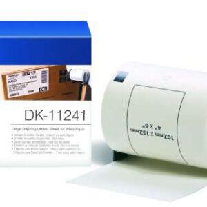 BROTHER Etiqueta 200ud 102x152mm Negro/Blanco DK11241