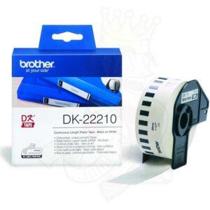 BROTHER CINTA PELICU CONT 29MM NG/BL DK-22210