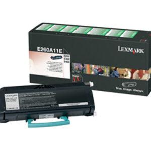 LEXMARK Toner Laser  Negro  E260A11E