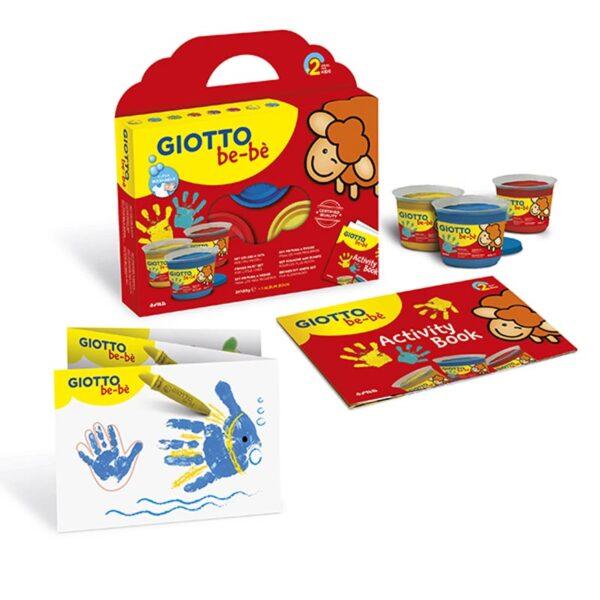 SET PINTURA DEDOS  + ALBUM GIOTTO BEBE F460700