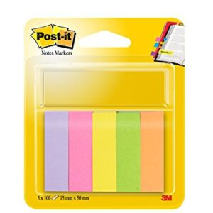 POST-IT Pack 5 mininotes 15×50 100 hojas  surtido FT510285917