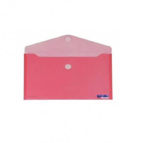 OFFICE BOX SOBRE CON CIERRE DE VELCRO ROJO A4+