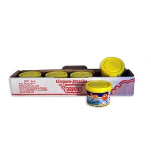 JOVI Caja 5 uds. Temperas 35 ml Amarillo 503/02