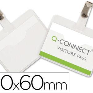 IDENTIFICADOR CON PINZA Q-CONNECT 60X90
