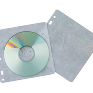 PAQ. 40 FUNDAS PP PARA CD/DVD Q-CONNECT KF02208