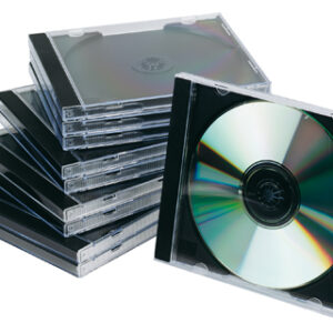 PACK 10 CAJAS PARA CD/DVD Q-CONNECT KF02209