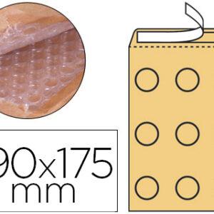 Sobre burbujas crema CD q-connect cd 165×175 mm. KF15020