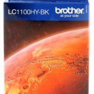BROTHER Cartuchos Inyeccion LC-1100HYBK Negro LC1100HYBK