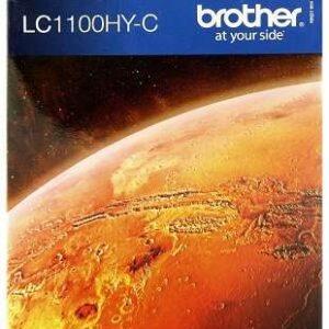 BROTHER Cartuchos Inyeccion 1100HYC Cyan LC1100HYC