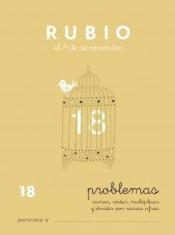 RUBIO CUADERNO PROBLEMAS Nº 18 PR-18