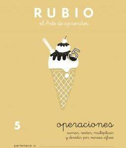 RUBIO CUADERNO OPERACIONES Nº 5 PR-5