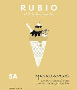 RUBIO CUADERNO OPERACIONES Nº 5A PR-5A