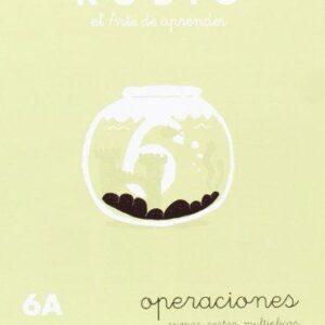 RUBIO CUADERNO OPERACIONES Nº 6A PR-6A