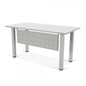 ROCADA Faldón metálico Gris de 99x30cm para mesa modular