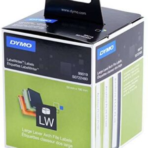 DYMO Etiqueta adhesiva 99019 -tamaño 59×190 mm para impresora 400 110 etiquetas