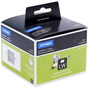 DYMO Etiqueta adhesiva 11354 -tamaño 57×32 mm para impresora 400 1000 etiquetas