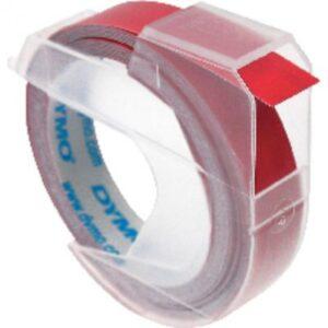 DYMO Cintas 3D 9 mm x 3m Rojo Rotulación manual