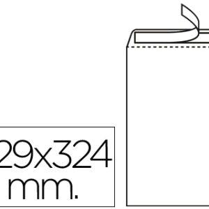 CAJA 250 BOLSAS 229X324 BLANCO 100GR. LIDERPAPEL SB34