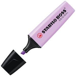STABILO Marcador fluorescente Boss lila pastel