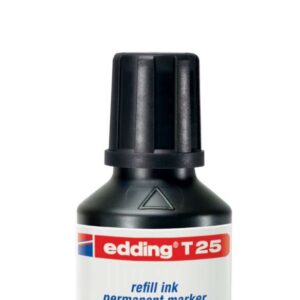 EDDING Frasco de Tinta  Edding T-25 30 ml negro T25-01