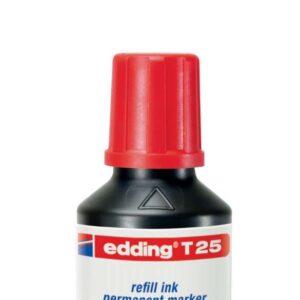 EDDING Frasco de Tinta  Edding T-25 30 ml rojo T25-02