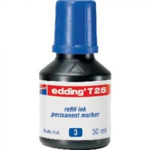 EDDING Frasco de Tinta  30 ml azul T25-03