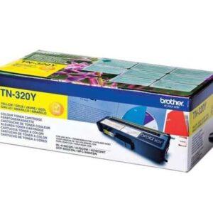 BROTHER Toner Laser TN-320Y Amarillo 1.500pg TN320Y