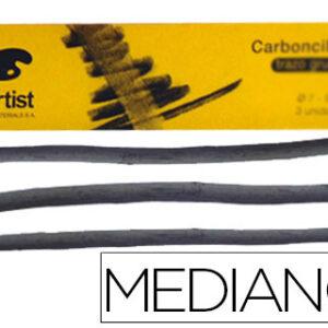 CAJA DE 6 CARBONCILLOS MEDIANOS 5-6 mm ARTIST