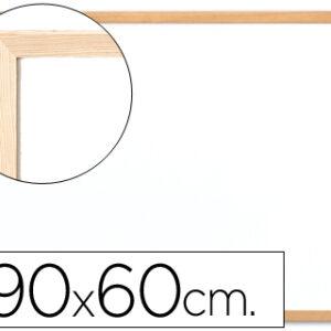 PIZARRA BLANCA Q-CONNECT MELAMINA MARCO MADERA 90×60 KF03571