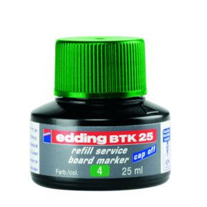 EDDING Tinta recarga marcadores pizarra BTK 25 25 ml verde