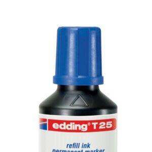 EDDING Tinta recarga marcadores pizarra BTK 25 25 ml azul