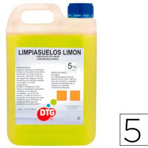 GARRAFA 5L LIMPIASUELOS LIMON MAPELOR