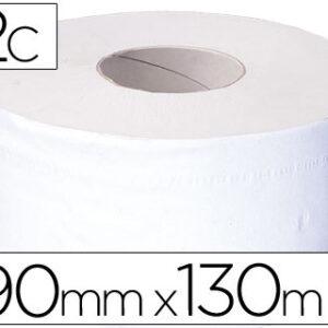 Papel higienico jumbo 2 capas reciclado -rollo con 130 mts. -para dispensador 925.