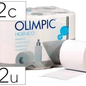 Papel higienico olimpic 2 capas paquete de 12 rollos.