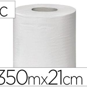 Papel secamanos buga 35x21cm reciclado 1 capa 43 g/m2 350 m.
