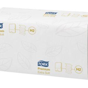 TORK Recambio toallas 210×340 100 servicios 2 Capas Para H2 System