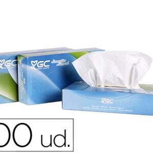 Pañuelo tissu 2 capas 21×20,7 cm caja de 100 unidades.