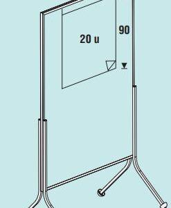 ROCADA Accesorio bloque de papel 20 hojas con sistema de fijación