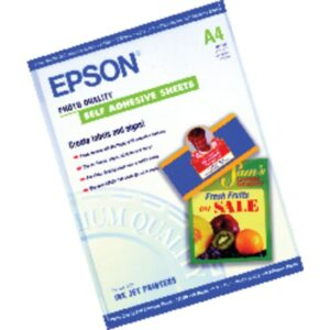 EPSON Papel autoadhesivo especial A4 10 Hojas 167 Gr
