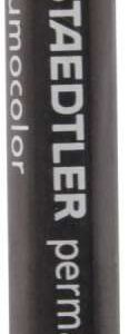 STAEDTLER Crayon Cera lumocolor permanente Omnigraph 12mm Azul